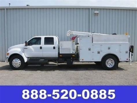 Ford F650 Service Trucks / Utility Trucks / Mechanic