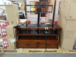 costco tv stands bayside furnishings axon 3 in 1 tv stand