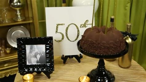 50th Wedding Anniversary Entertainment Ideas by Cake Table Decoration Ideas For A 50th Wedding