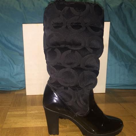 coach high heel boots 80 coach boots coach loryn insulated high heel