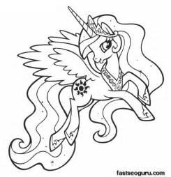 princess celestia coloring page princess celestia coloring pages