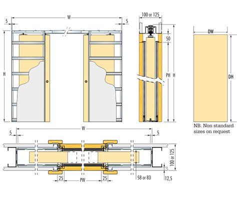 mm wall thickness double pocket door pocket doors kit