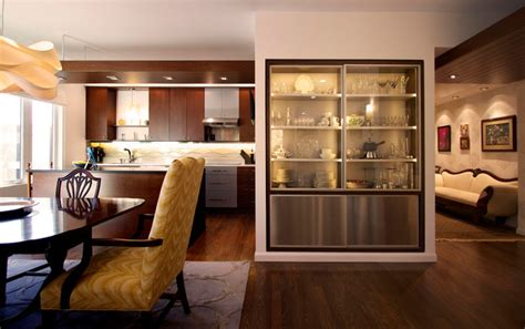 Mosaic Ideas For Bathrooms china cabinet defines open space contemporary dining