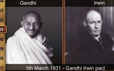 gandhi irwin pact  india   british  hindu