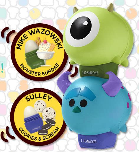 Tsum Tsum Lip Smacker Elsa Ariel Mike Wazowski Sulley a look at the new ariel elsa sulley and mike wazowski
