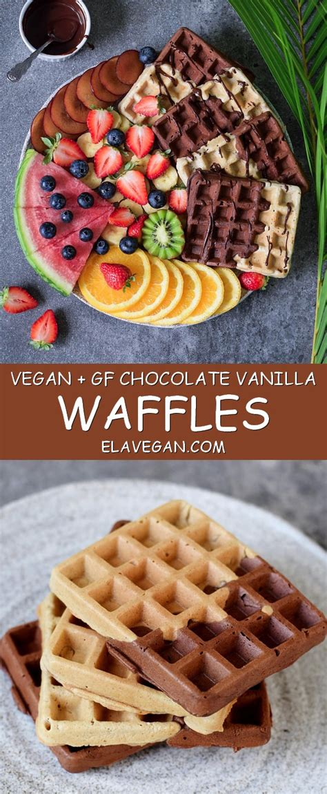 the healthy vegan recipes cookbook vegan waffles and pancakes cake recipes vegetable cupcakes fully vegan recipes and other veganish meals suitable for a catholic fasting books vegan gluten free waffles healthy recipe elavegan