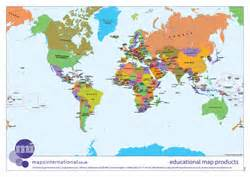 printable a4 world map showing countries kids zone download loads of fun free maps