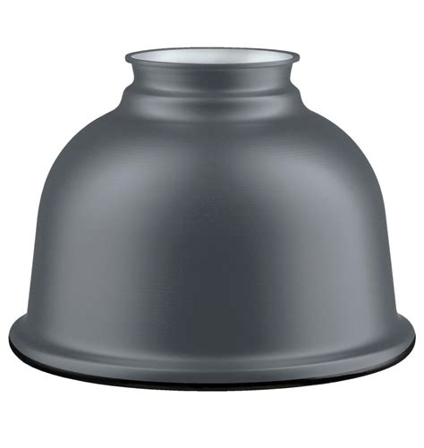 Small Metal L Shade by Small Metal Dome Shade Matte Gray Rejuvenation