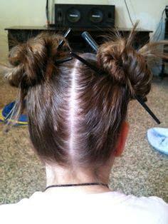 hair plait with chopstick chopstick bun braid bun and ponytail hairstyles