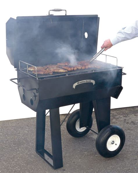 pr36 backyard bbq smoker meadow creek barbeques