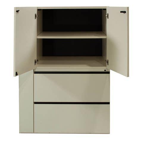 used laminate utility cabinet white national office