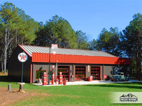 Classic Garage by Steel Building Photo Gallery Metal Building Types