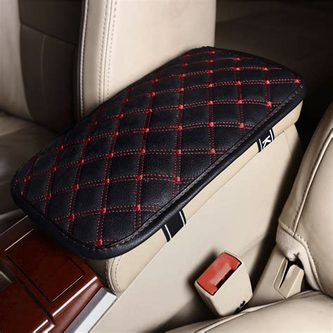 car seat covers with armrest aliexpress buy leather car armrest pad covers