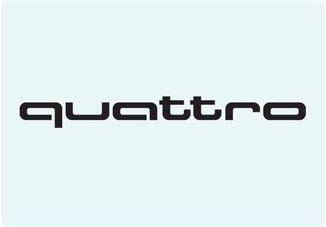 audi logo vector audi quattro free vector stock graphics