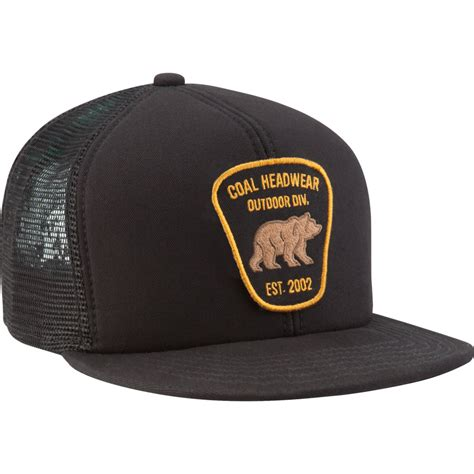 coal bureau trucker hat backcountry