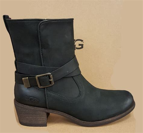 ugg lorraine 1010204 black ugg boots shoes ebay