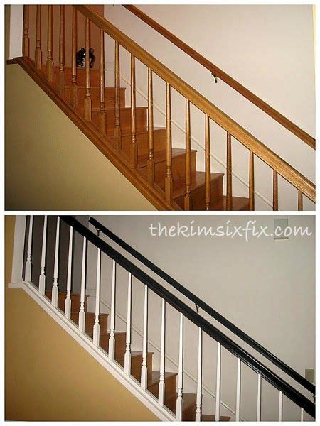 oak banister makeover 203 best images about for the home on pinterest white