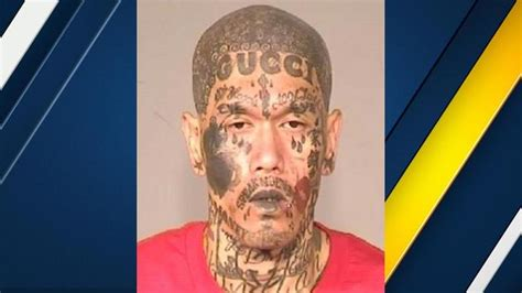 chipotle tattoo alleged member busted with the wildest tattoos
