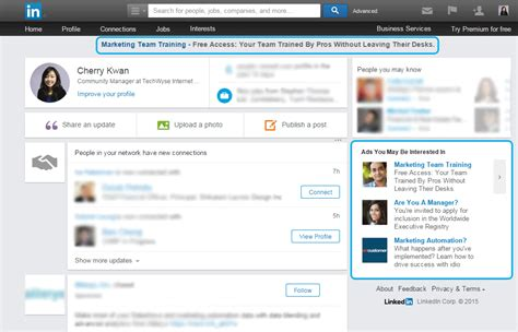 The Complete List Of Linkedin Ad Dimensions Strike Social Linkedin Ad Template