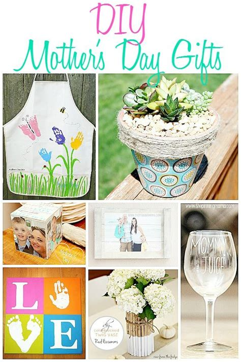 diy projects for mom 10 s day gifts ideas that will show your how