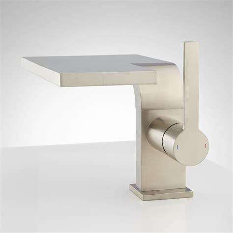Single Waterfall Bathroom Faucet by Minxia Single Waterfall Faucet Modern Faucets