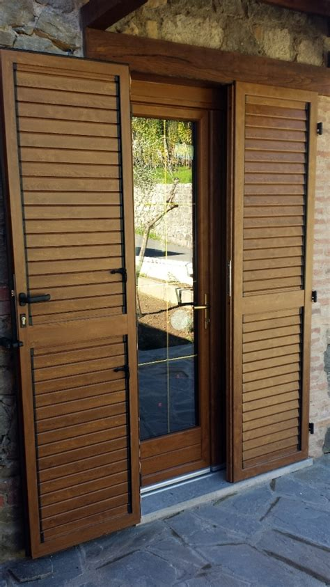 finestre e persiane in pvc foto porta finestra in pvc e persiana in alluminio di