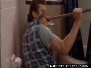Ace Ventura Shower by I Was Going Through A Family Photo Album I Found A