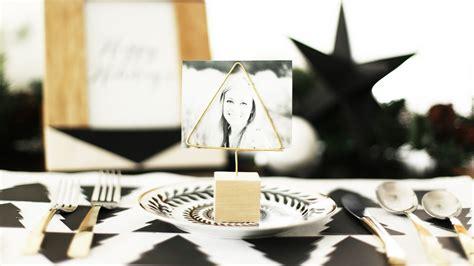 diy gold place card holders kristi murphy diy ideas diy christmas place card holders youtube