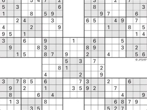 printable sudoku 5 in 1 printable sudoku high five