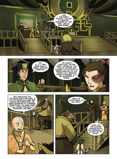 Avatar The Last Airbender Vol 5 avatar the last airbender vol 1 promise part 1 page 5