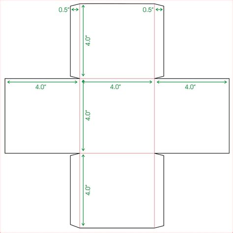 box outline template tweedlelou mini box template