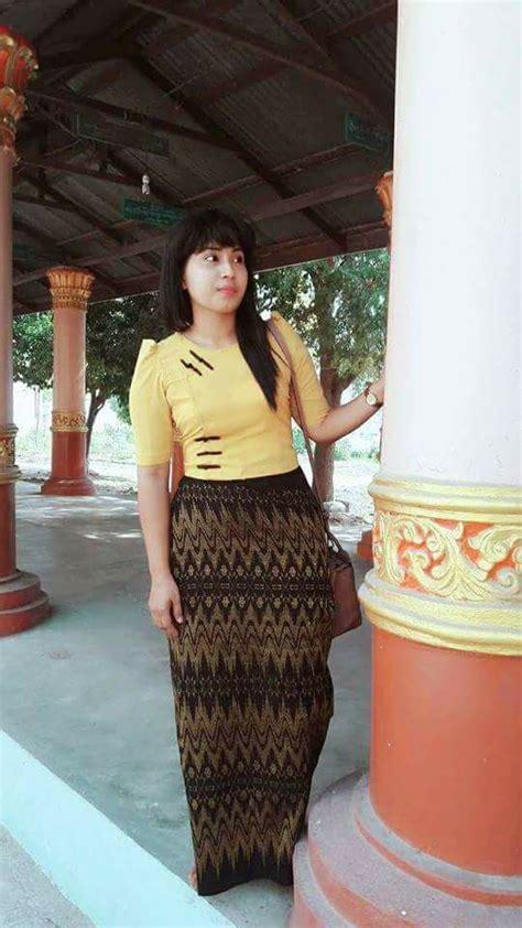 myanmar burmese dress  collection fashionre