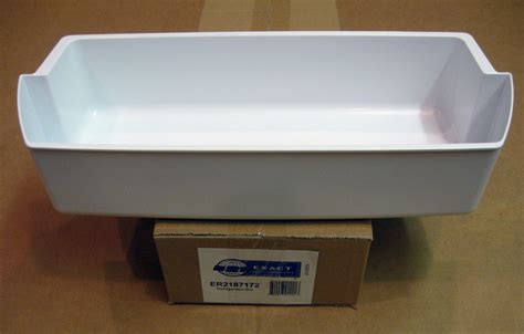 Whirlpool Fridge Door Shelf by Wp2187172 For Whirlpool Refrigerator Door Bin Shelf White Ap6006028 Ps11739091 Ebay