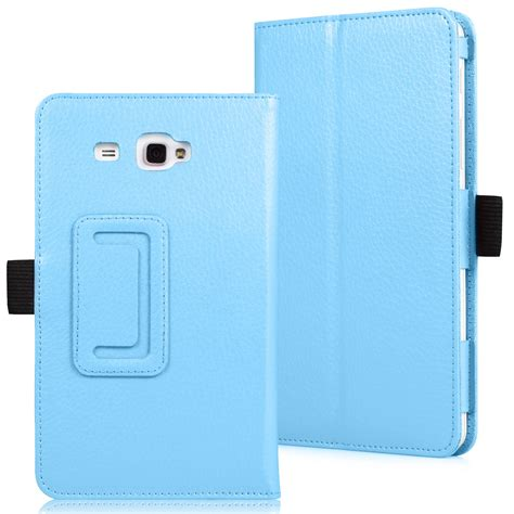 Bookcover Samsung Tab A 7in T280 slim leather cover samsung galaxy tab a 7 0 7 inch tablet sm t280 sm t285 ebay