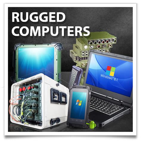Rugged Mobile Computers by Certified Rugged Mobile Computers Handhelds Tablets