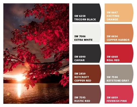 quot rustic fall quot color palette inspiration chip it by sherwin williams home colour