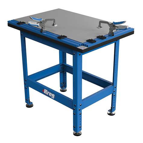 kreg bench kreg cl table and steel stand combo with automaxx auto