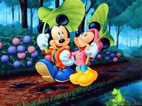 Free Disney Characters Screensaver freeware screenshot