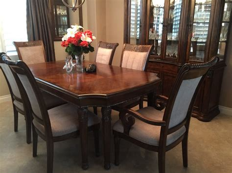 Mahogany Dining Room Sets Mahogany Dining Room Set Matching Hutch 11 Pieces