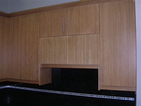 Bamboo Flat Panel Kitchen Cabinets Flat Panel Kitchen Cabinet Doors