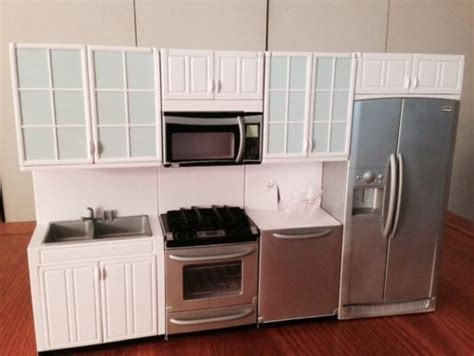 barbie kitchen furniture mint barbie kenmore elite kitchen furniture dream house
