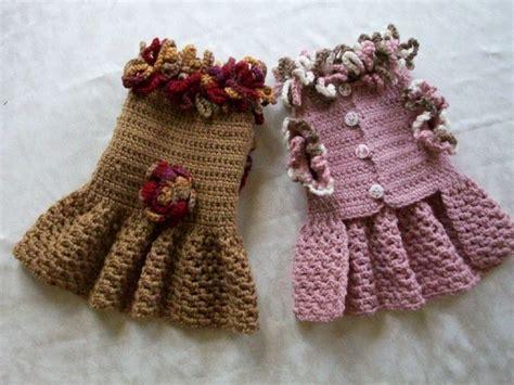 crochet pattern for xxs dog sweater crochet pet dog cat clothes apparel sweater dress coat s