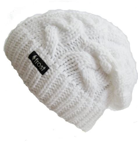 Hats Winter Hat For White Slouchy Beanie Cable
