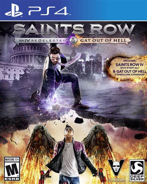 Ps3 Kaset Ori Saints Row Region 3 saints row iv re elected gat out of hell playstation 4