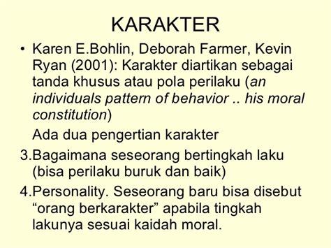 pattern of behaviour adalah uud karakter copy
