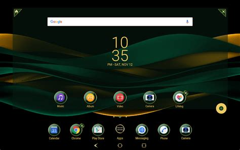 download gold themes for android emerald gold theme for xperia android apps on google play