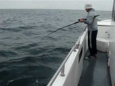 charter fishing boat dover dover boat fishing aboard the jolly fisherman youtube