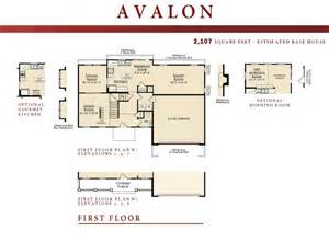 avalon first floor ryan legacy builders avalon ryan homes floor plan home plan