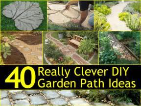 Backyard Path Ideas 40 Really Clever Diy Garden Path Ideas