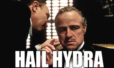 Hail Hydra Meme - hail hydra you know the drill keithroysdon